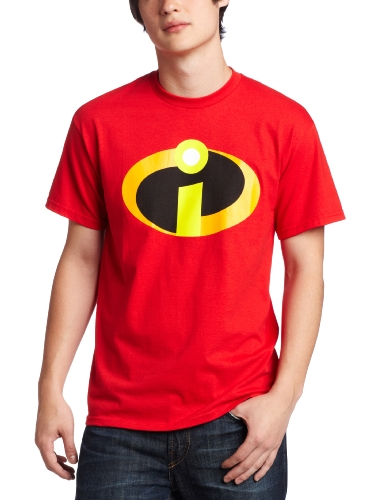 The Incredibles T-shirt Basic icon Logo (XXL/Red)