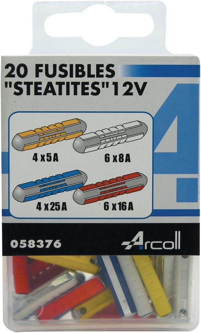 ALTIUM 822759 20 Fusibles St/éatite Assortis
