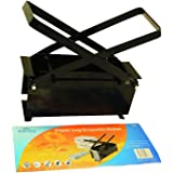 Black Metal Paper Log Briquette Maker