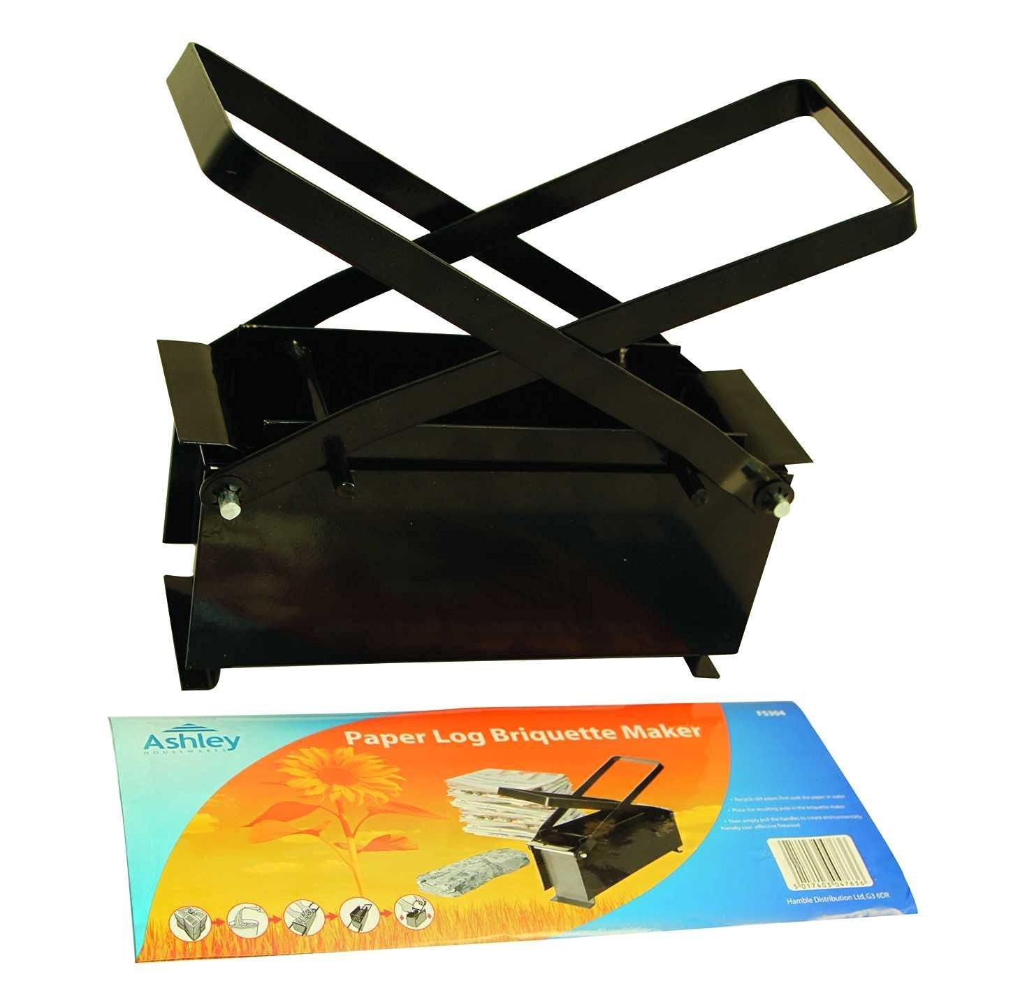 Black Metal Paper Log Briquette Maker Greenfingers ST-HA-BB-FS304