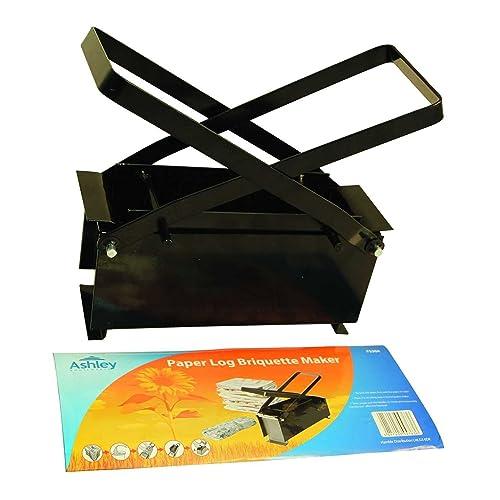 Black Metal Paper Log Briquette Maker