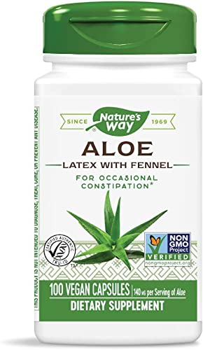 Natures Way Aloe Latex