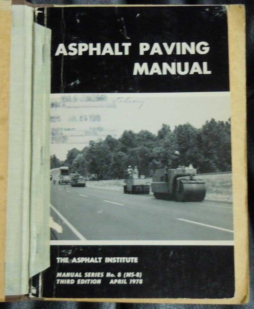 Asphalt Paving Manual, Third Edition: Asphalt Institute: Amazon.com: Books