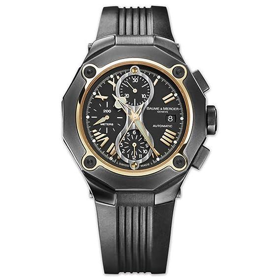 fe7f294634a4 Baume   Mercier para hombre 8758 Riviera Chrono reloj automático ...