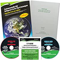 Qwik608 EPA 608 English Study Kit Reference Manual, Software Download Code, DVD, Study Guide