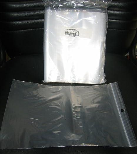 Format 180 x 250 Sachets pour bijoux ou pochette plastique zip Lot de 100
