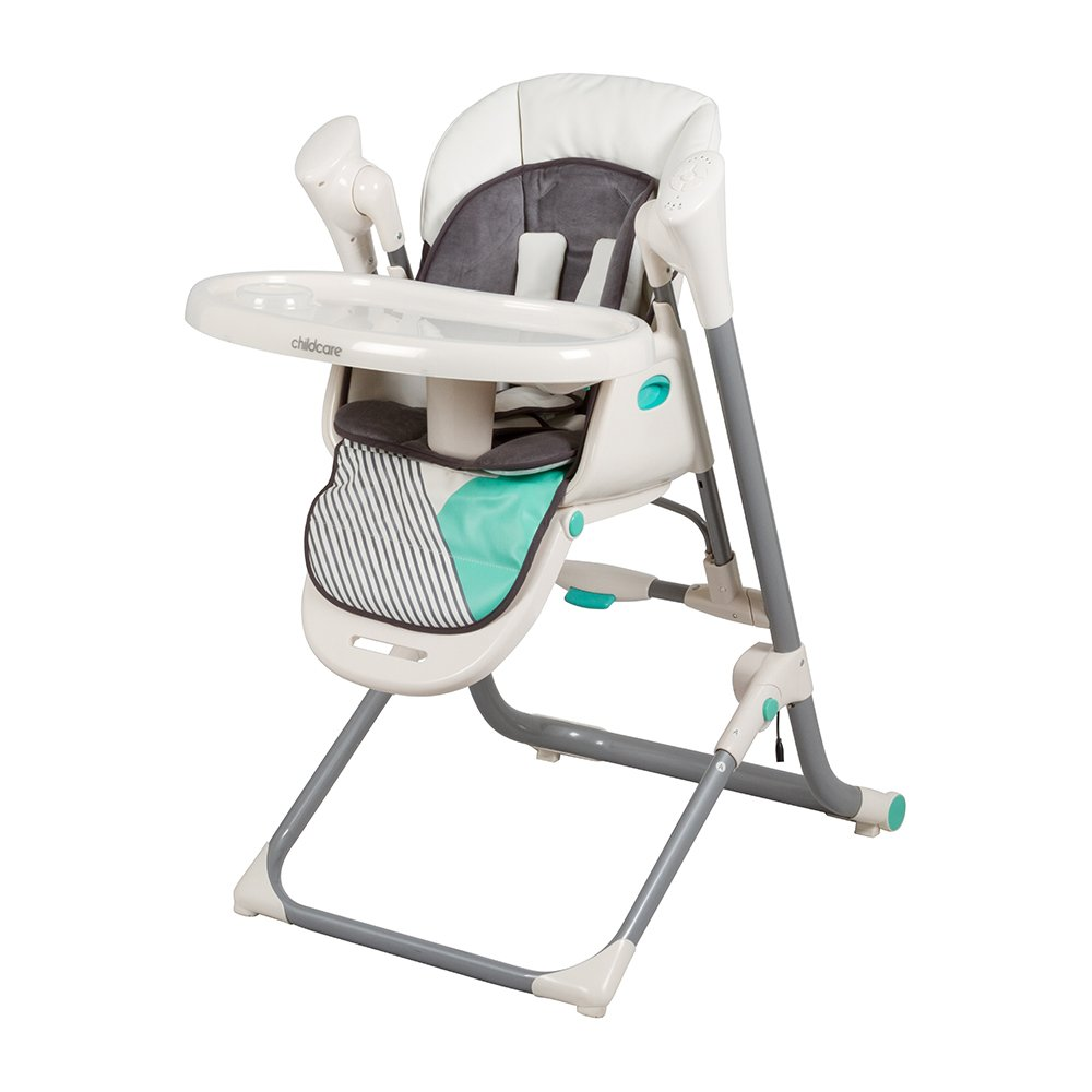Childcare Argent 2 In 1 Swing High Chair