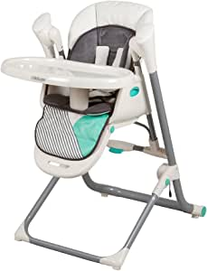 Childcare Argent 2 in 1 Swing Highchair, Aztec Teal