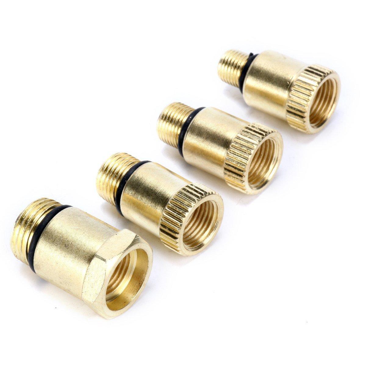FreeTec Kompressionspr/üfer Kompressionstester Motor Kompression pr/üfen me/ßen Kfz M10 M12 M14 M18