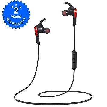 Auriculares Bluetooth 4.1 Auricular magnético inálambrico Deportivos, tecnología APTX y de Ruido de Cancelación CVC 6.0-AlienxCandy M3: Amazon.es: ...