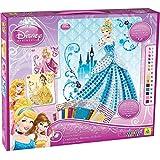 Orb Factory ORB11018 - Loisirs Créatifs - Disney Princess 3 Projets Aurora, Belle and Cinderella - Sticky Mosaiques Autocollantes aux Numéros