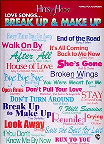 Hits with a Hook: Love Songs...Break Up & Make Up (Piano/Vocal ...