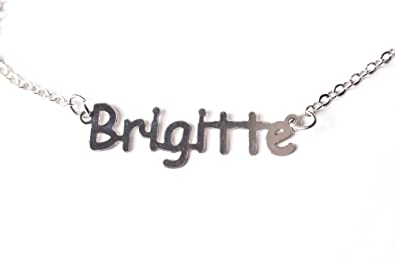 Collar nombre Brigitte