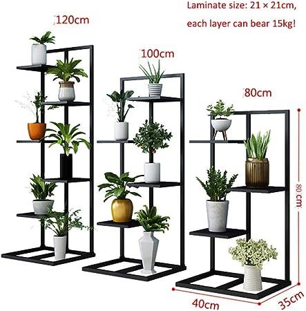 Soportes para plantas Soporte de maceta de mesa de lado de mesa de ...