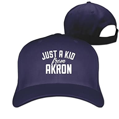 Just A Kid From Akron Ohio Cool Hat Fitted Hats Baseball Caps at ... 92458a33281