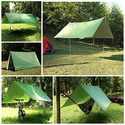 Ayamaya Camping Tarp Shelter Rain Fly For Tent Hammock 10