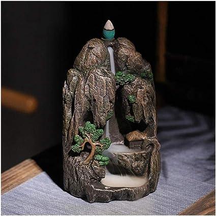 家庭用アロマディフューザー 逆流Xianglushan煙の滝の家の装飾