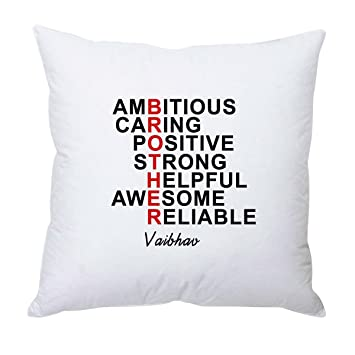 Buy Brother Full Form Personalized Cushion - Rakhi Gifts Online at ...