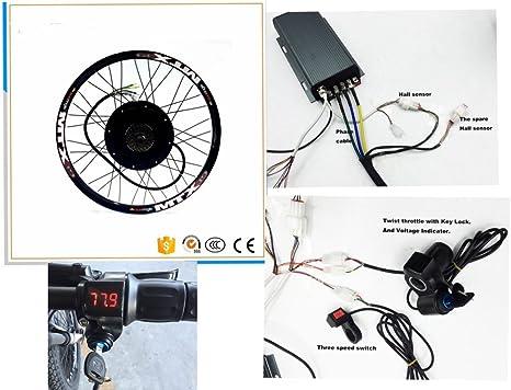 Nbpower 48 V 88 V 66 cm 72 5000 W kit de conversion E-Bike, Sabvoton