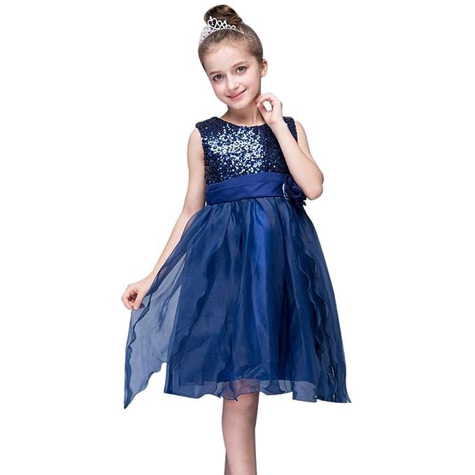 Vestido de niñas, FAMILIZO Vestido para Niñas Vestidos De Fiesta De Cumpleaños De Fiesta De