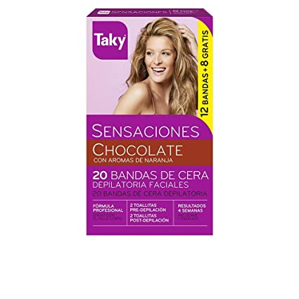 Taky Depilación Banda Facial Chocolate