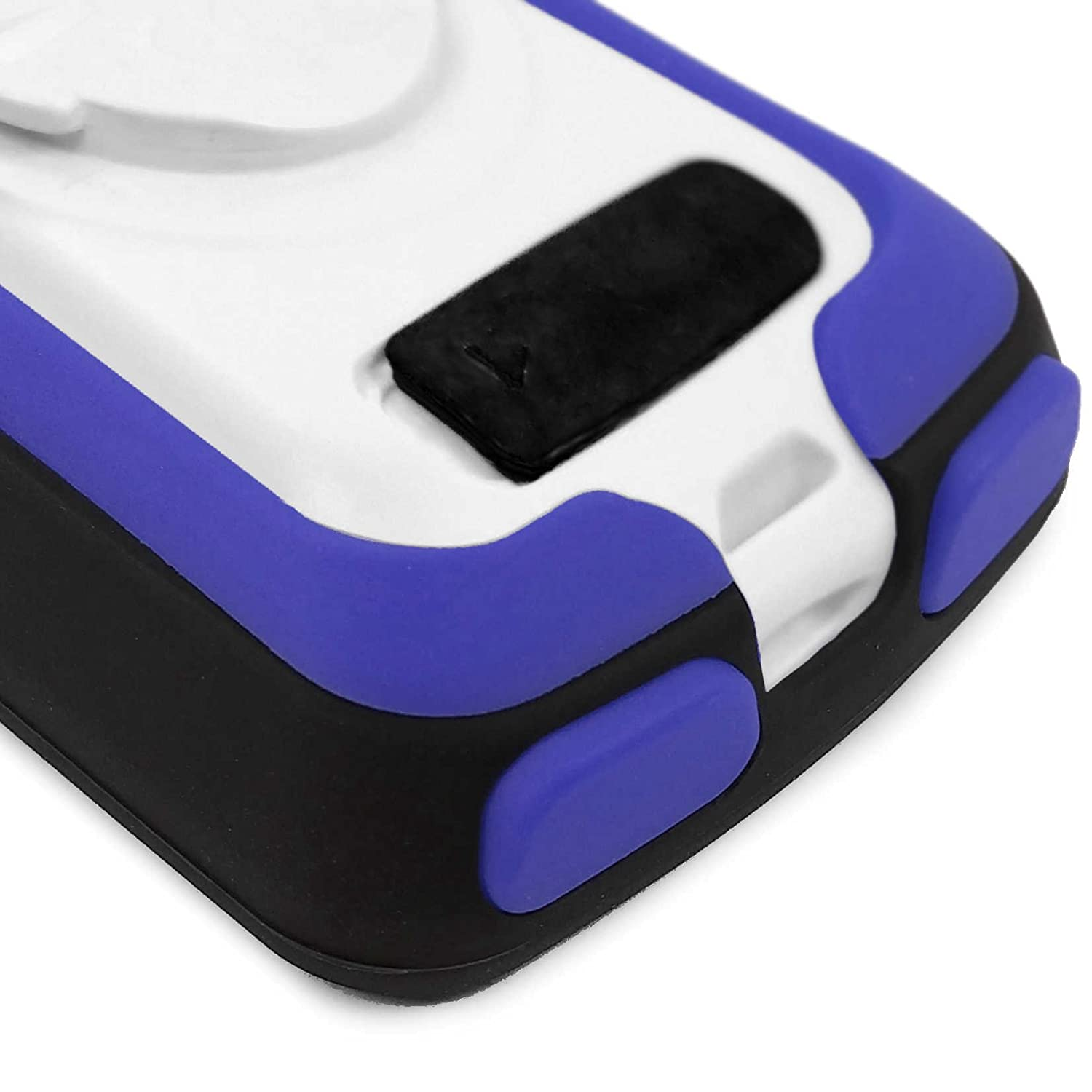 Tuff-Luv 3 in 1 Combo Silicone Gel Skin Case and Screen Cover for Garmin Edge 820 with Out-Front Handlebar Mount Black