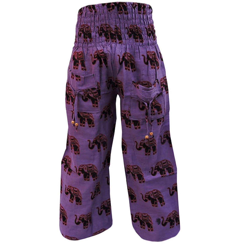 83cbed1d255 best Indian ELEPHANT HAREM YOGA PANTS Hippie Gypsy Men Women Trousers Baggy  Yoga Harem Pants REE1