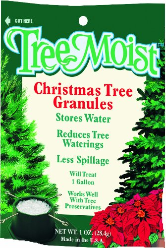 Tree Moist JCD024TM 1Ounce Bag Christmas Tree Watering Granules