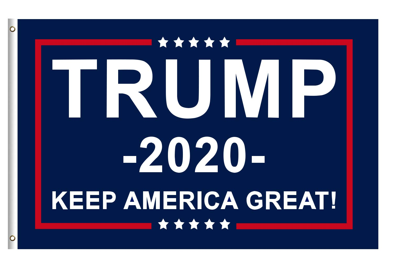 Donald Trump For President 2020 Keep America Great Flag Banner Go Trump 2020 Flag 3×5 Feet With Brass Grommets