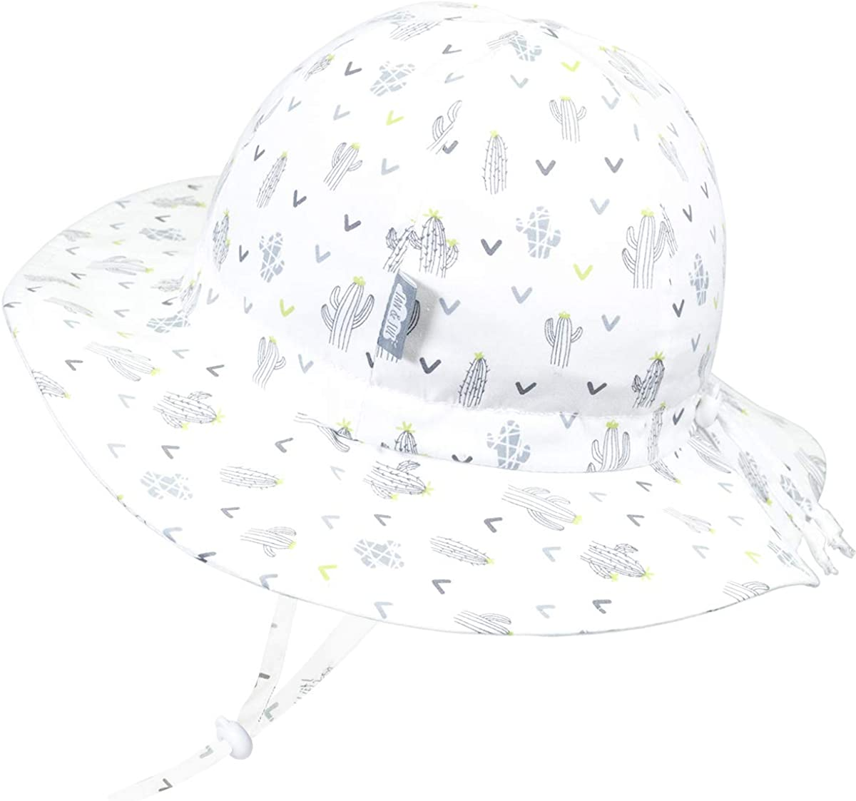 50+UPF Girl or Boy Jan /& Jul Kids Cotton Floppy Sun-Hat for Baby And Toddler Adjustable Straps