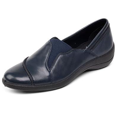 Padders Ruth Mujer Casual Colocar Zapatos 3 UK/36 EU Azul Marino