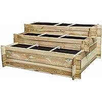 Hochbeet-Treppe Hugo 120x100x54cm, 3 Stufen