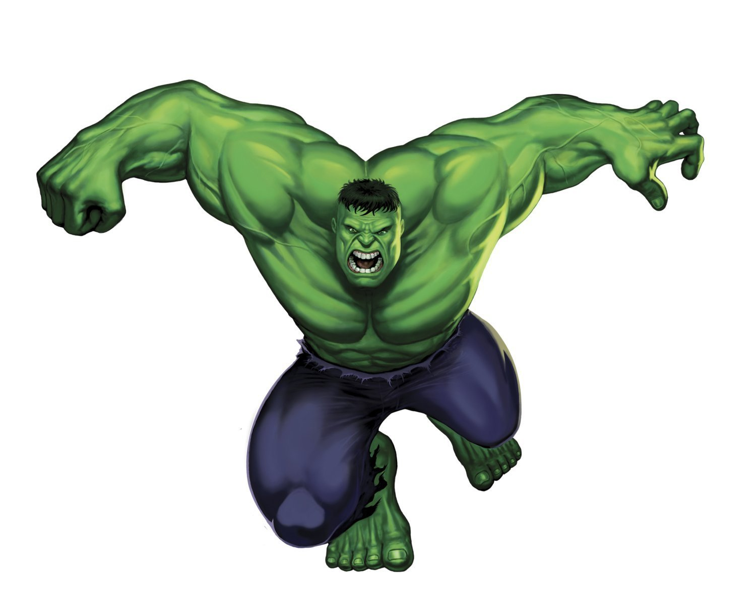 Marvel Heroes Comic - Avengers - The Incredible Hulk Giant Wall Decal by Marvel (Image #1)