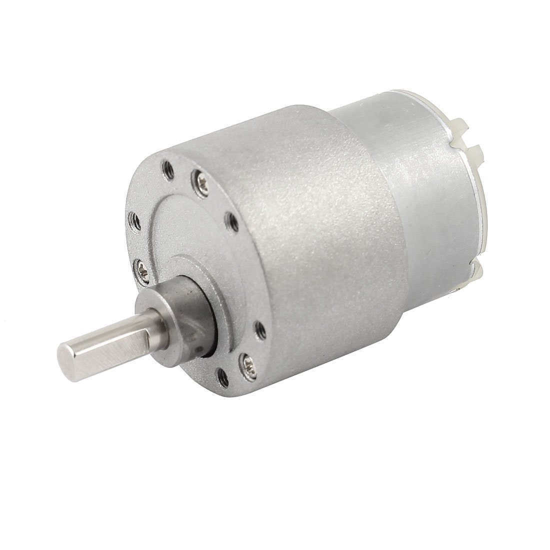 DC 12V 60RPM High Torque Speed Control Geared Motor by uxcell