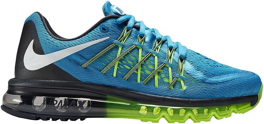 Nike Air MAX 2015 Zapatillas de Running Azul Nuevo en Caja, (Light Blue Lacquer/Volt/Anthracite/White), 11 B(M) US: Amazon.es: Zapatos y complementos