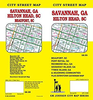 Savannah Chatham County, Georgia Folding Map: Apple Valley