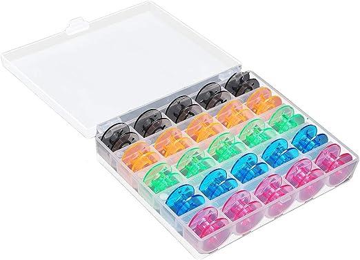 Global Brands Online 25 Unids/set bobinas vacías máquina de coser ...