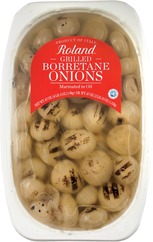 Roland Foods, Borretane Onions, Grilled, 67 Ounce by Roland Foods