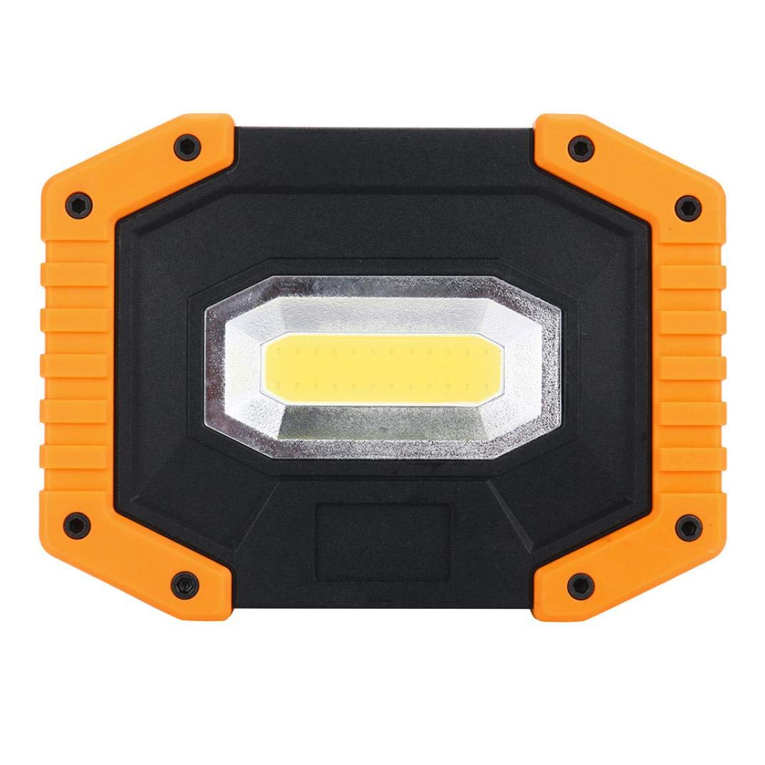 Liping Portable LED SMD Working Light Car Repair Auto Inspection Camping Lamp COB Decorative Lights Garden Light Gutter Fence (5.3×4×1.2in)