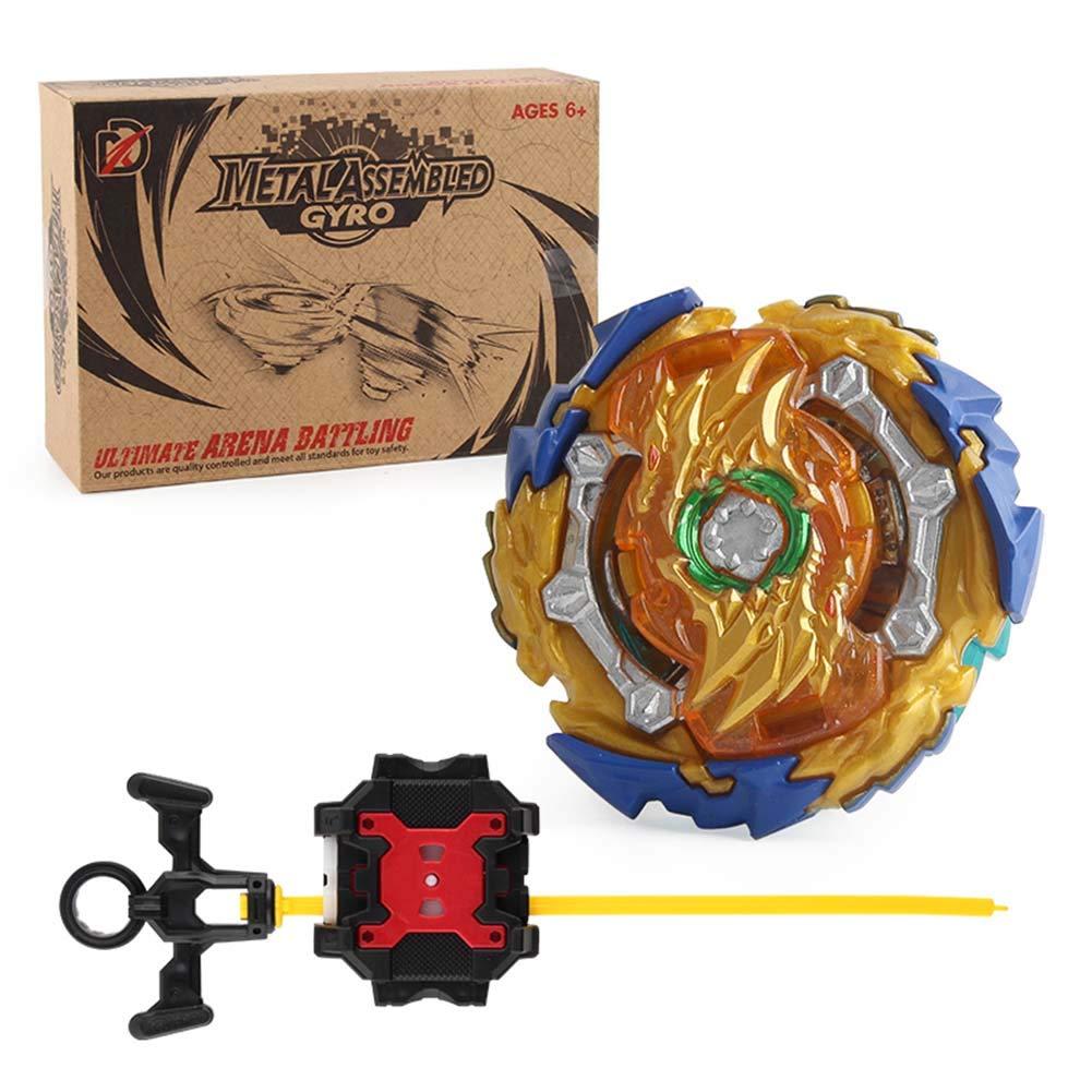B-00 Christ For Givek Beyblade Burst GT Serie Wrestling Masters Fusion Kreisel Kreisel Gyro und Two Way Launcher Kunststoff Speedy Toy und Geschenke Interessant f/ür Kinder