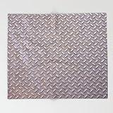 Society6 Texture #13 Metal. Throw Blankets 88'' x 104'' Blanket