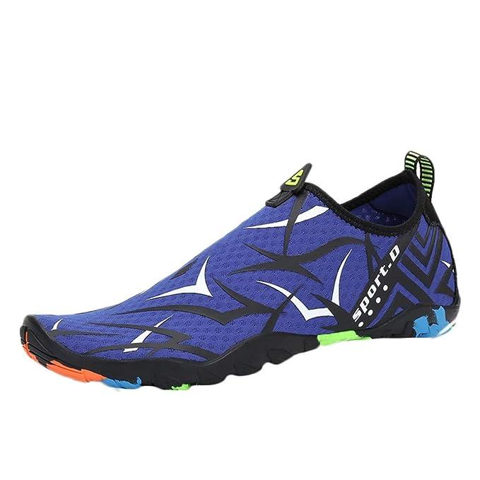 Amazon.com: Zapatillas de agua para hombre y mujer, secado ...