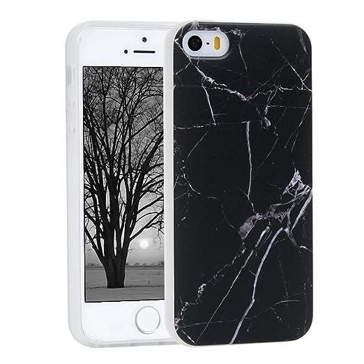2 opinioni per Cover per iPhone 5 5S SE Custodia TPU Ultra Sottile Leggero Flessibile Liscio