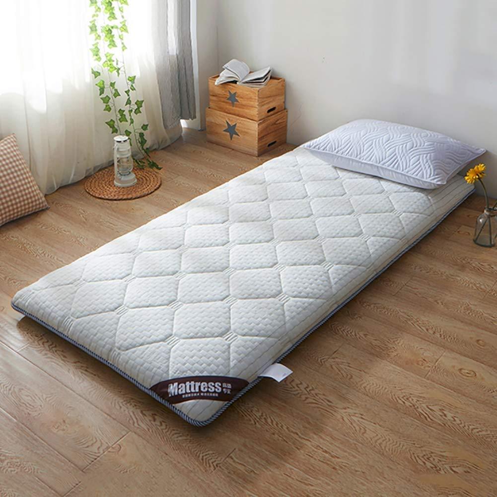 C 100x200cm(39x79inch) Reversible Memory Foam Mattress, Hypoallergenic Comfort Floor Mat Pad Japanese Futon Tatami Mat Sleeping for Dormitory,Home (color   B, Size   90x200cm(35x79inch))