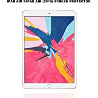 TECHSHIELD® Screen Protector for iPad Air 3 (2019)/iPad Pro 10.5(2017) 10.5 inch,Tempered Glass,9H Hardness,[Apple Pencil Compatible] Ultra Clear,Anti-Scratch,Case Friendly