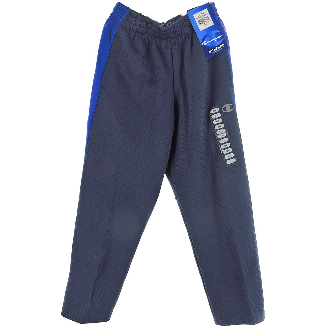 Champion Authentic Boys MESH Pants (Navy Awesome Blue, 5) by Champion