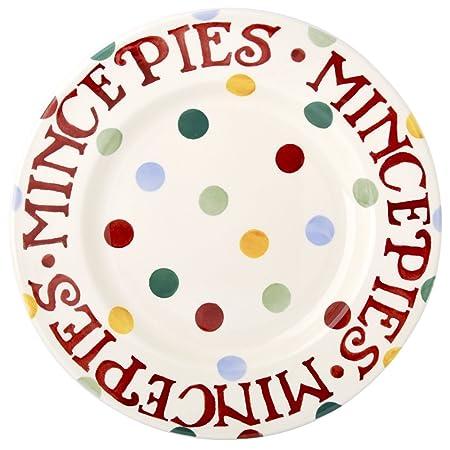 Emma Bridgewater - Polka Dot 8 1/2\u0026quot; Mince Pie Plate  sc 1 st  Amazon UK & Emma Bridgewater - Polka Dot 8 1/2\