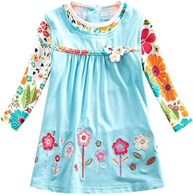 The Childrens Place Baby Girls Long Sleeve Floral Printed Sweater