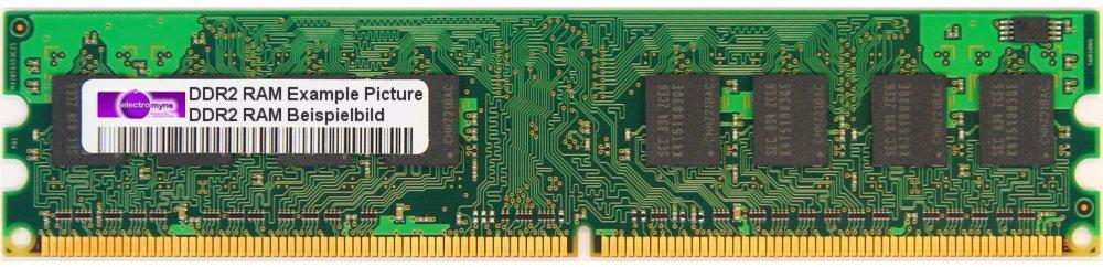 41X4256 1GB Hynix DDR2-667 RAM PC2-5300U-555-12 2Rx8 HYMP512U64CP8-Y5 AB-T FRU General/überholt
