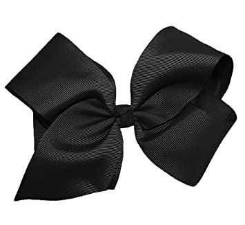 1d53e4ea03262 Image Unavailable. Image not available for. Color  WD2U Girls 6 quot  by  5 quot  Large GrosGrain Knot Boutique Hair Bow ...